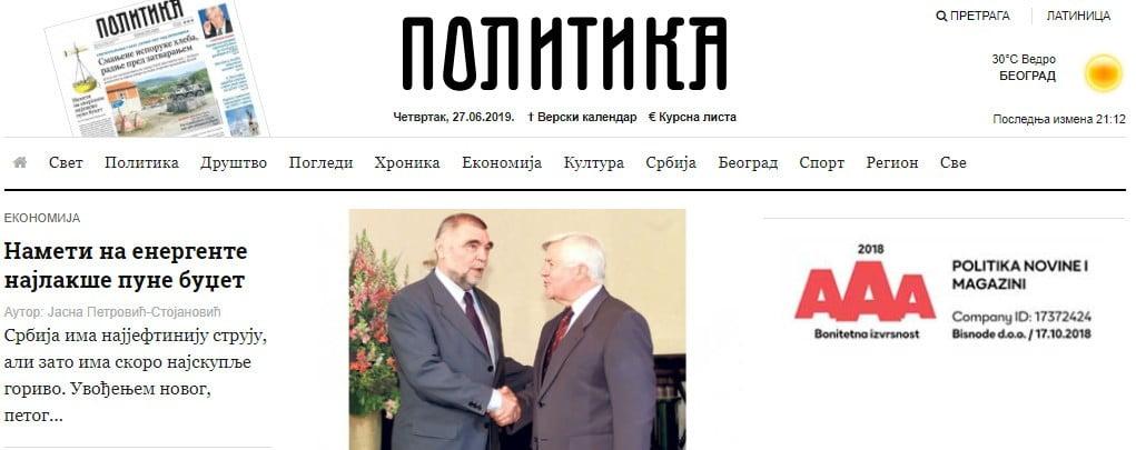 KÍSÉRT A MÚLT: Szerbiában háborús bűnök miatt feljelentették a volt szlovén elnököt KÍSÉRT A MÚLT: Szerbiában háborús bűnök miatt feljelentették a volt szlovén elnököt politika kucan