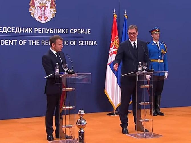 MACRON BELGRÁDBAN: Szerbia a franciák szívügye, de miért? MACRON BELGRÁDBAN: Szerbia a franciák szívügye, de miért? macron vucic