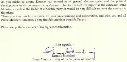 csatlakozÁs: a v4-ek támogatják a nyugat-balkán uniós integrációját, koszovó megsértődött a csehekre CSATLAKOZÁS: A V4-ek támogatják a Nyugat-Balkán uniós integrációját, Koszovó megsértődött a csehekre ramush cseh