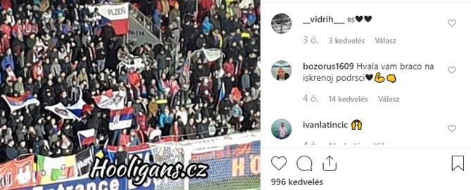 futball És politika: a csehek szerb zászlókkal borzolták a koszovói szurkolók és játékosok idegeit FUTBALL ÉS POLITIKA: A csehek szerb zászlókkal borzolták a koszovói szurkolók és játékosok idegeit hvala braco