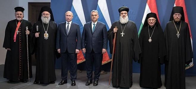 magyar-orosz: putyin és orbán a kereszténység védelmezői MAGYAR-OROSZ: Putyin és Orbán a kereszténység védelmezői putyin orban papok