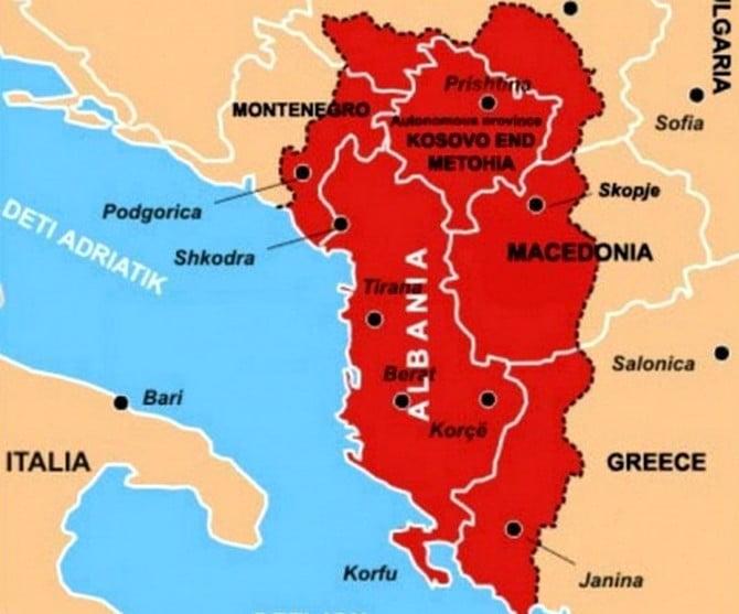 Újabb uniÓ: nagy-albánia - álom vagy rémálom? ÚJABB UNIÓ: Nagy-Albánia – álom vagy rémálom? nagy albania