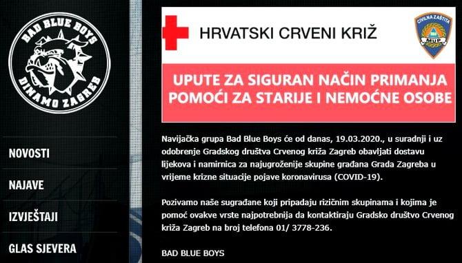 VÍRUS ÉS FOCI: A zágrábi Dinamo labdarúgó csapat két mentőautót adományozott, de az ultrák is segítenek VÍRUS ÉS FOCI: A zágrábi Dinamo labdarúgó csapat két mentőautót adományozott, de az ultrák is segítenek bbb gyogyszerek