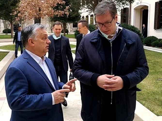 KORONAVÍRUS: Szerbia elnökével egyeztetett a magyar miniszterelnök Budapesten KORONAVÍRUS: Szerbia elnökével egyeztetett a magyar miniszterelnök Budapesten orban vucic