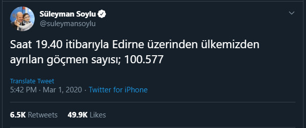 fake news: a törökök szerint 80 ezer, a görögök szerint 80 migráns jutott be görögországba FAKE NEWS: A törökök szerint 80 ezer, a görögök szerint 80 migráns jutott be Görögországba soylu