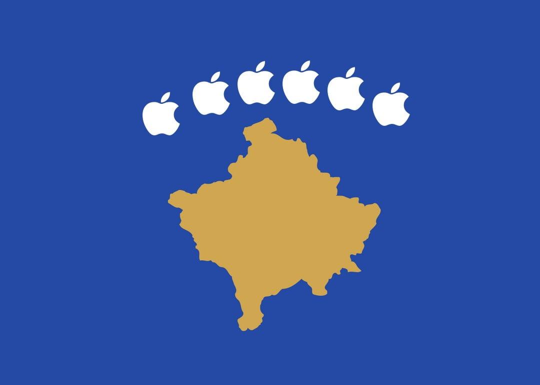 APPLEORSZÁG ÉS KOSZOVÓ: A koszovói vezetés kéri az ország függetlenségének elismerését az Apple-től APPLEORSZÁG ÉS KOSZOVÓ: A koszovói vezetés kéri az ország függetlenségének elismerését az Apple-től koszovo almas zaszlo