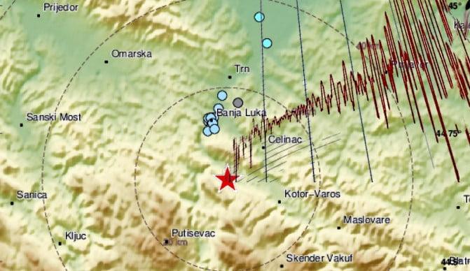 MEGINT MOZOG A FÖLD: Újabb földrengés rázta meg Bosznia-Hercegovinát MEGINT MOZOG A FÖLD: Újabb földrengés rázta meg Bosznia-Hercegovinát fold banaj luka