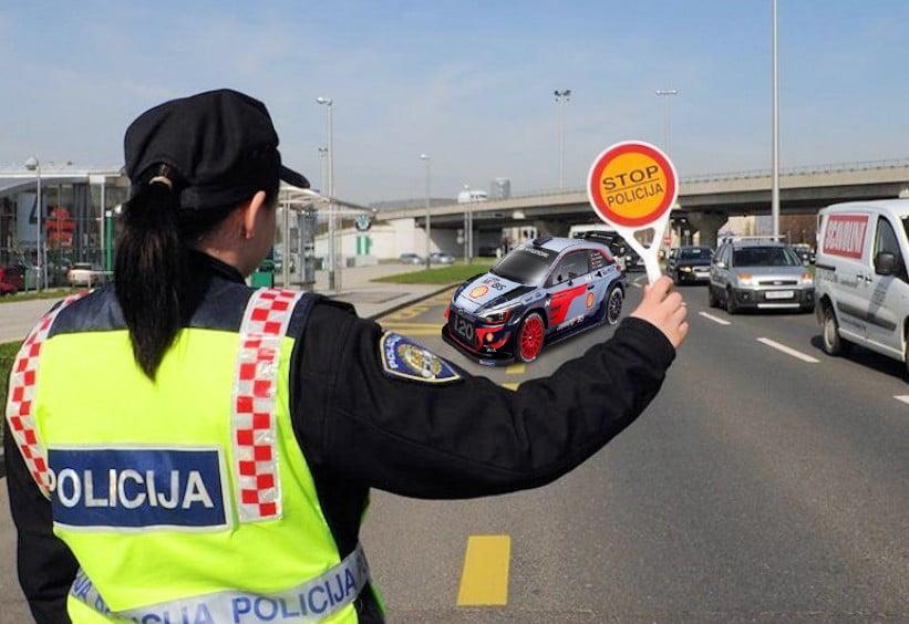 BEMÉRTÉK: Egy magyar autós 194 kilométeres sebességgel halad az eszéki elkerülő úton BEMÉRTÉK: Egy magyar autós 194 kilométeres sebességgel halad az eszéki elkerülő úton policija madjar