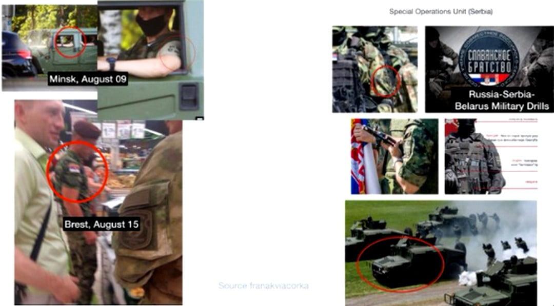 CÁFOLAT: Nincsenek szerb zsoldosok Fehéroroszországban CÁFOLAT: Nincsenek szerb zsoldosok Fehéroroszországban viacorka