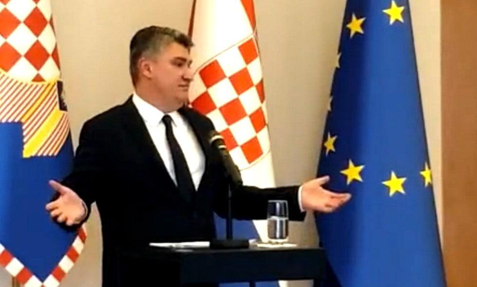 ZÁGRÁBI ÜZENET: Budapesti pojácákról beszélt a migrációval kapcsolatban a horvát államfő ZÁGRÁBI ÜZENET: Budapesti pojácákról beszélt a migrációval kapcsolatban a horvát államfő miilanovic 2