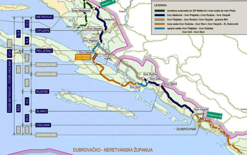 A Decade There Will Be A Highway To Dubrovnik But Only In Ten Years