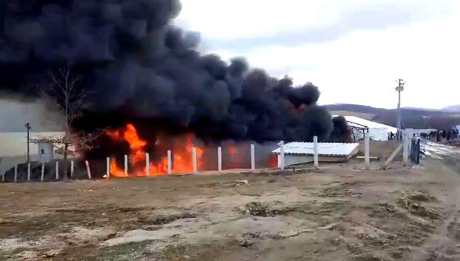 KÁOSZ: A migránsok felgyújtották a sátrakat a lipai táborban, és szidják Bosznia-Hercegovinát