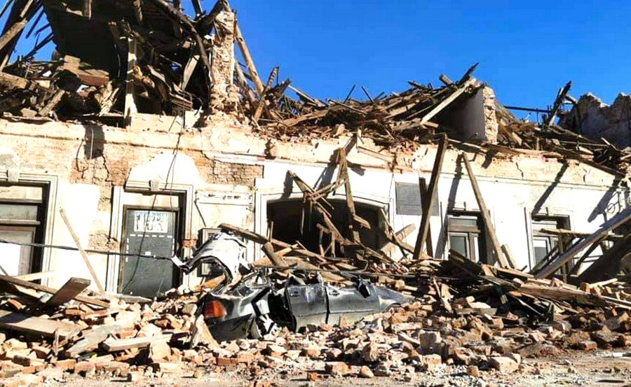 MEGINT MOZGOTT, DE NAGYON: Ezúttal 6,3-as erősségű földrengés rázta meg Horvátországot, növekszik a halottak száma