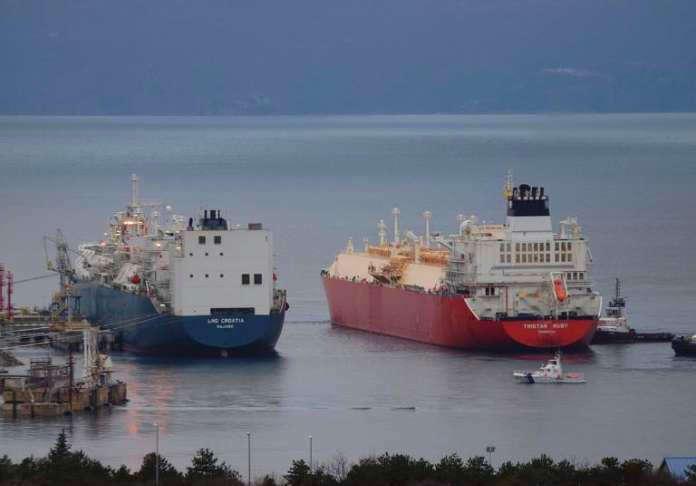 BEINDULT: Megkezdte kereskedelmi termelését a krki LNG-terminál, az amerikaiak meghozták az első gázt