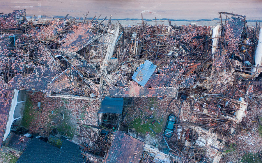 MÁSIK GYÁSZNAP: Horvátországban a földrengés áldozataira emlékeznek