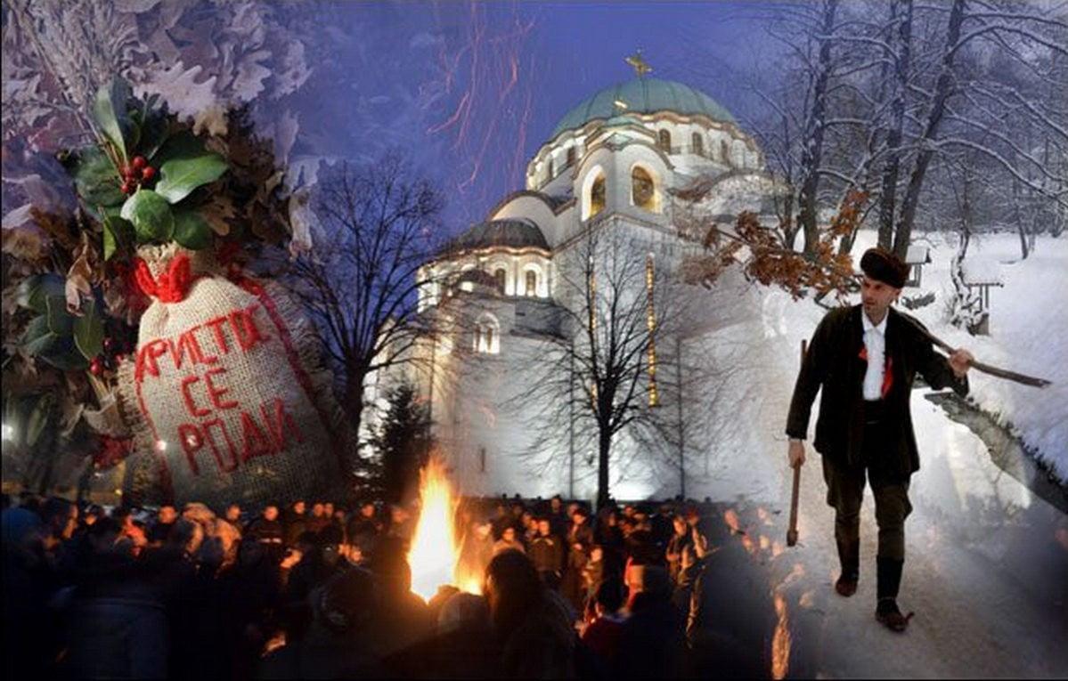 SZERB KARÁCSONY: A hagyományok nagy része a kereszténység előtti időkre nyúlik vissza