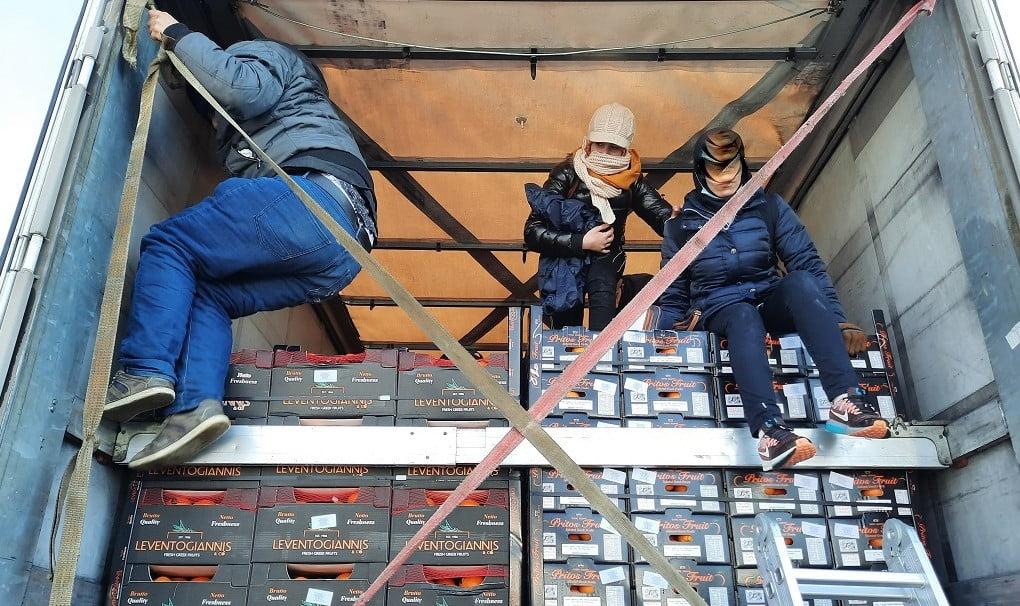 déli gyümölcs DÉLI GYÜMÖLCS: Mandarinoknak álcázott migránsok érkeztek Szerbiába deli gyumolcs mandarin