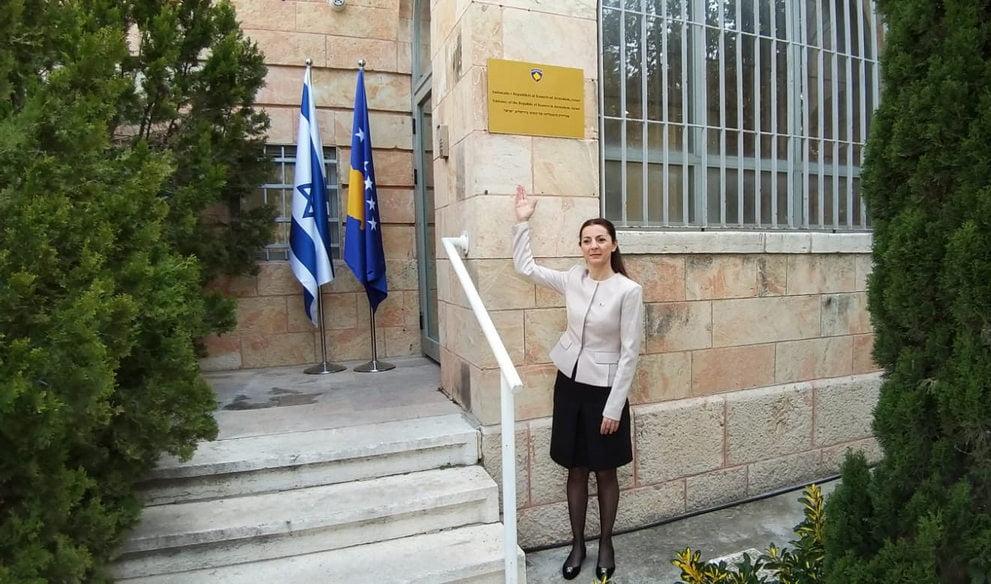 koszovó HIVATALOSSÁ VÁLT: Koszovó megnyitotta nagykövetségét Jeruzsálemben kisebbnagykovetasszony