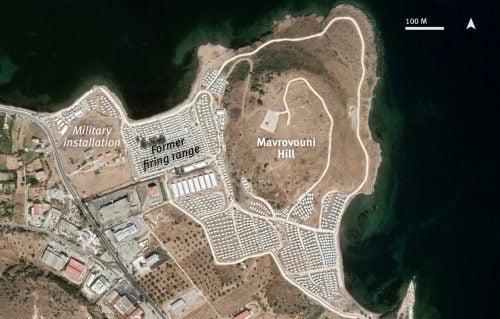 TŰZ ÉS ÍTÉLET: Öt éves börtönt kapott két migráns, aki felgyújtotta a görögországi Moria tábort mavrarouni 500x319
