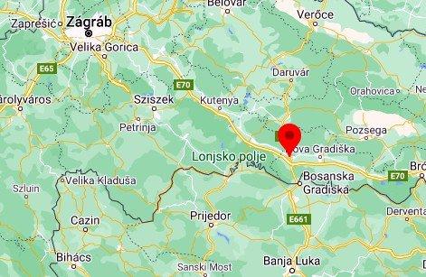 NÉGYEN MEGHALTAK: Horvátországban felborult egy szerb kamion, amelynek rakterében 24 migráns bújt meg okucsany