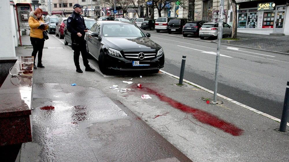 migráns PATAKVÉR: Megszurkáltak egy migránst Belgrád központjában 🔞 patakver 5