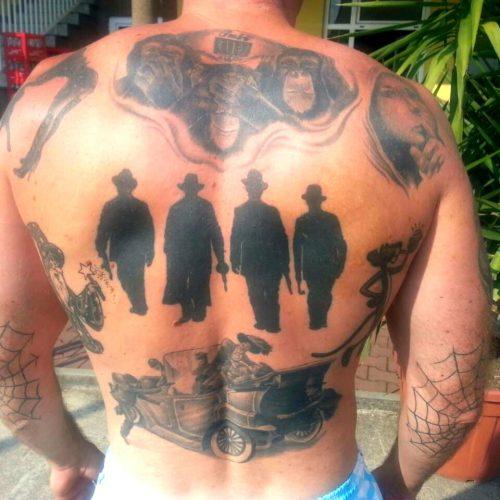 szerb BRUTÁLIS KIVÉGZÉS: Megölték a maffiózót, aki a szarajevói merényletet tetováltatta a testére stupar hata 500x500