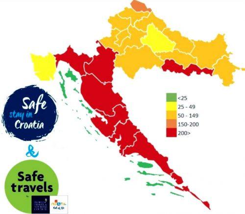オンラインのみ! クロアチアでは、船員の観光税がオンラインでクロアチア語のみオンラインになりました! クロアチアでは、船員の観光税がオンラインhorvat covid500x436になりました