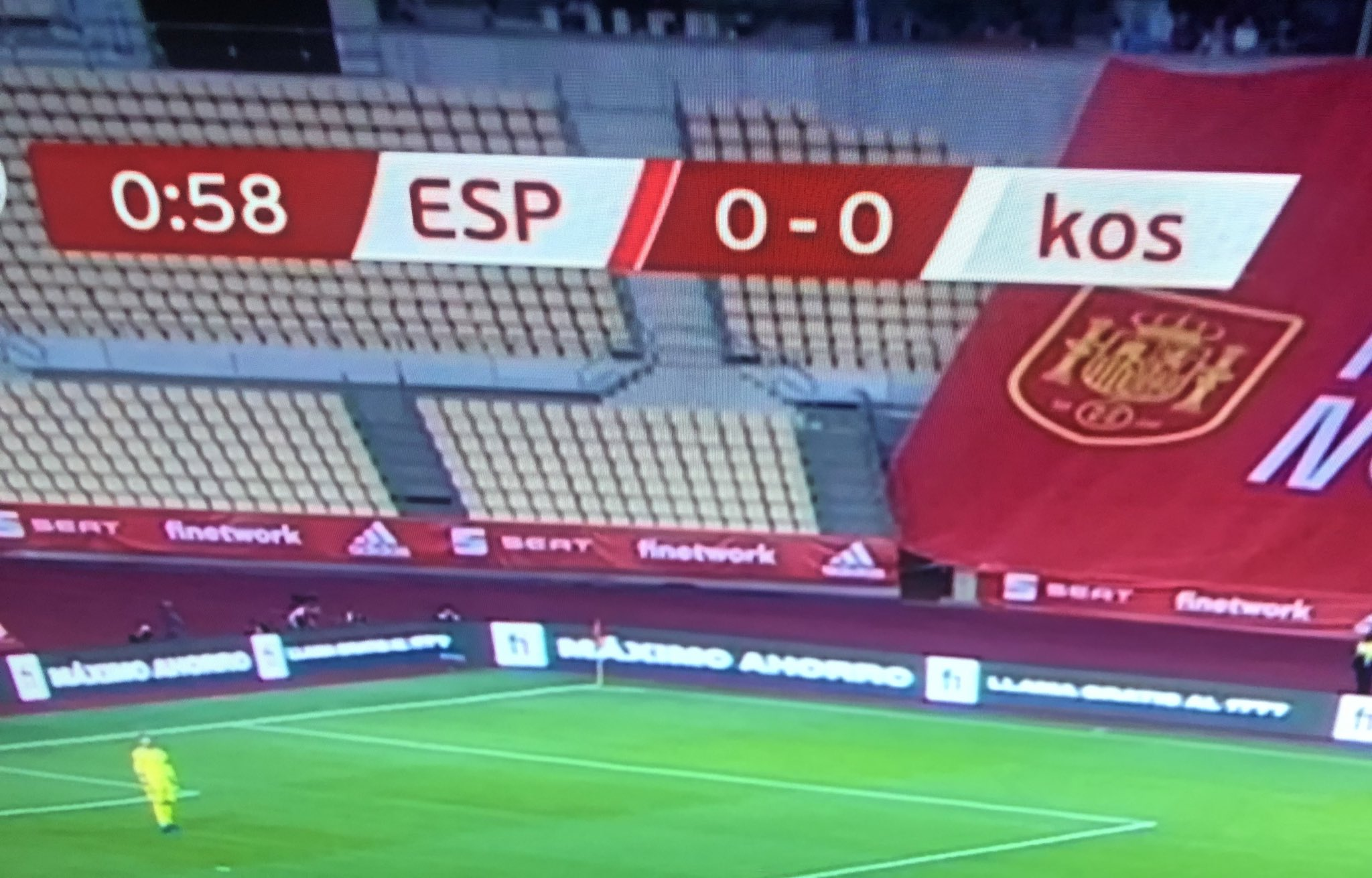 koszovó NEMECSEK KOSZOVÓ: A spanyolok kisbetűvel írták Koszovó nevét koszovo spanyolorszag