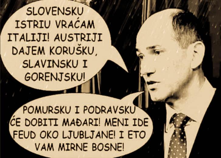 AZ UTOLSÓ BOSZNIAI: Hogyan daraboljuk fel Szlovéniát? mirna bosna