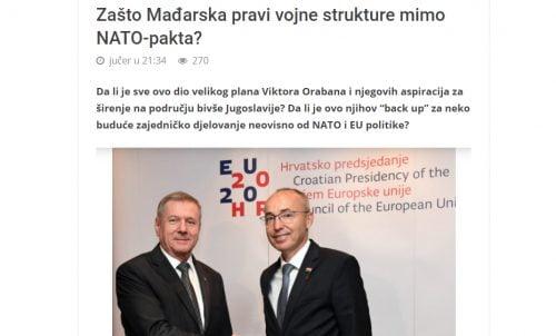 magyar POLITICKI.BA: Magyarország Bosznia lerohanására készül, hogy Oroszország és Szerbia kedvében járjon zasto TÖRTÉNELMI TÉRKÉPEK: A szlovénok után a horvátok is fenyegetve érzik magukat TÖRTÉNELMI TÉRKÉPEK: A szlovénok után a horvátok is fenyegetve érzik magukat zasto