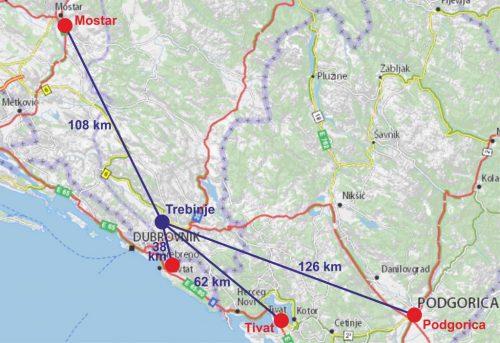 trebinje ELŐRETOLT HELYŐRSÉG: Szerb segédlettel orosz katonai támaszpont épül Dubrovnik közelében? Trebinje 1024x703 1 500x343