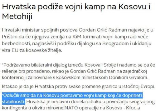 TARİH VE DİĞER HER ŞEY: Sırplarla Hırvatlar arasındaki ilişki, insanlar 500x355'i suçlayarak kandırılırken kızmaya başlıyor