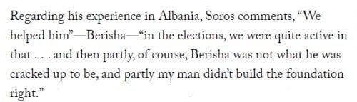 soros AMERIKA ISMÉT BELENYÚLT: Volt albán elnököt utasítottak ki az USA-ból, avagy Soros György kései bosszúja soros berisha 500x143