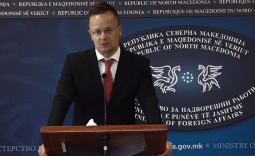 """szkopje EXKUZÁLTUK MAGUNKAT: Senki sem ért egyet Várhelyi Olivérrel, a külügyminiszter Szkopjéban tette helyére a dolgokat szijjarto szkopje p 500x306 KIKÉPZÉS: Az Iszlám Államnak voltak """"alacsony intenzitású"""" táborai a Balkánon, avagy ha terrorista vagy, akkor hívd a Balkánt! KIKÉPZÉS: Az Iszlám Államnak voltak """"alacsony intenzitású"""" táborai a Balkánon, avagy ha terrorista vagy, akkor hívd a Balkánt! szijjarto szkopje p 500x306"""