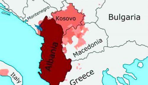 EGY MÍTOSZ ÚJRAKALIBRÁLÁSA: Koszovó és Albánia egyesítése - de minek? albán EGY MÍTOSZ ÚJRAKALIBRÁLÁSA: Koszovó és Albánia egyesítése – de minek? nagy albania  500x286