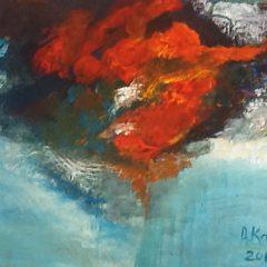 La batalla dels elements de l'aigua i el foc adele kehl-geafer Des de les profunditats remolinants de l'ànima - Exposició virtual d'AdeleKaleh La batalla dels elements de l'aigua i el foc 2 240x240