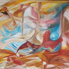La primavera arriba adele kehl-geafer Des de les remolins profunditats de l'ànima: l'exposició virtual d'AdeleKaleh s'enfonsa a la primavera 1 240x240
