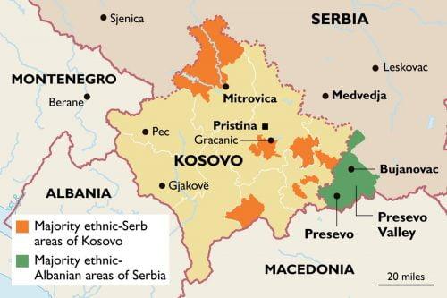 AZ ELÁTKOZOTT VÖLGY: Húsz évvel ezelőtt fegyveres harc is dúlt a térségben, Szerbia azóta sem tudta igazán integrálni Preševót EfyLK zXgAEqO5L 500x333