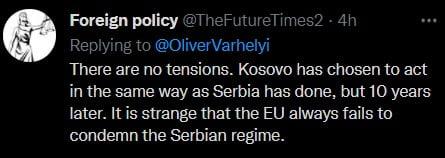 """EGYOLDALÚ? A Twitteren nekimentek Várhelyinek, mert követelte az """"egyoldalú"""" koszovói döntés visszavonását hozzaszolas"""